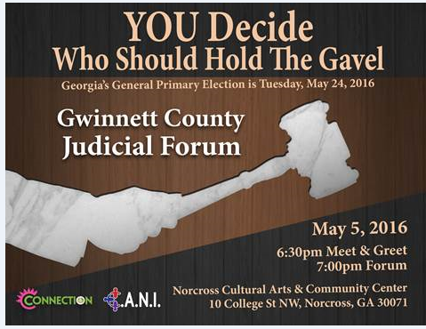 GwinnettJudicail Forum 2016
