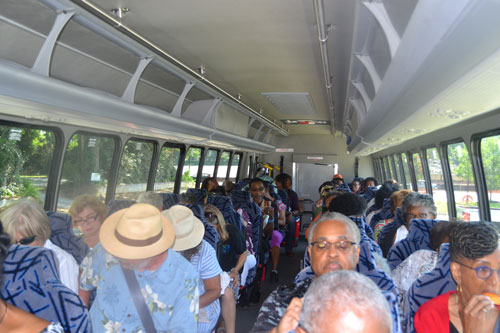 Ebony society bus tour