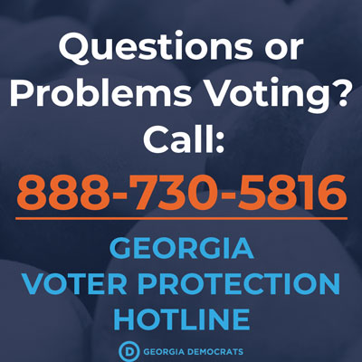 Voter Protection Hotline